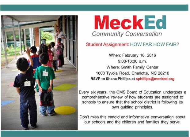 MeckEd Community Conversation