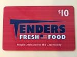Tenders Cards